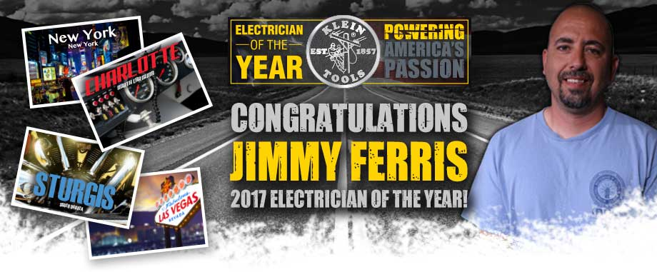 Klein Tools 2017 Electrician of the Year - Winner!