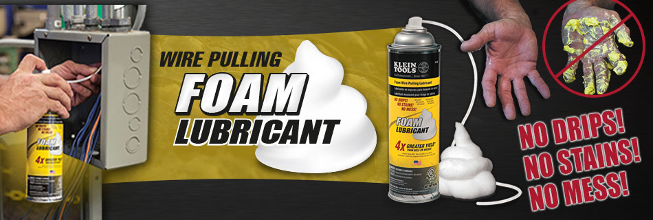 Klein Tools Foam Wire Pulling Lubricant